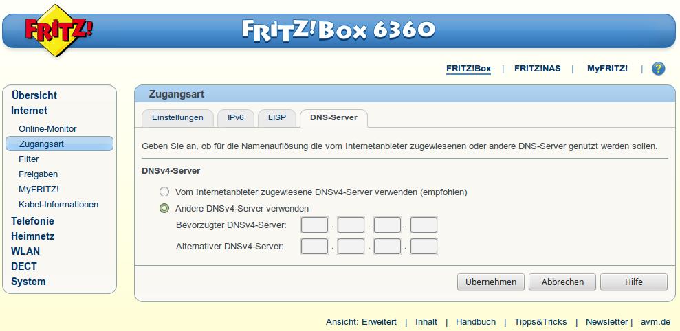 DNS-Server_Fritzbox